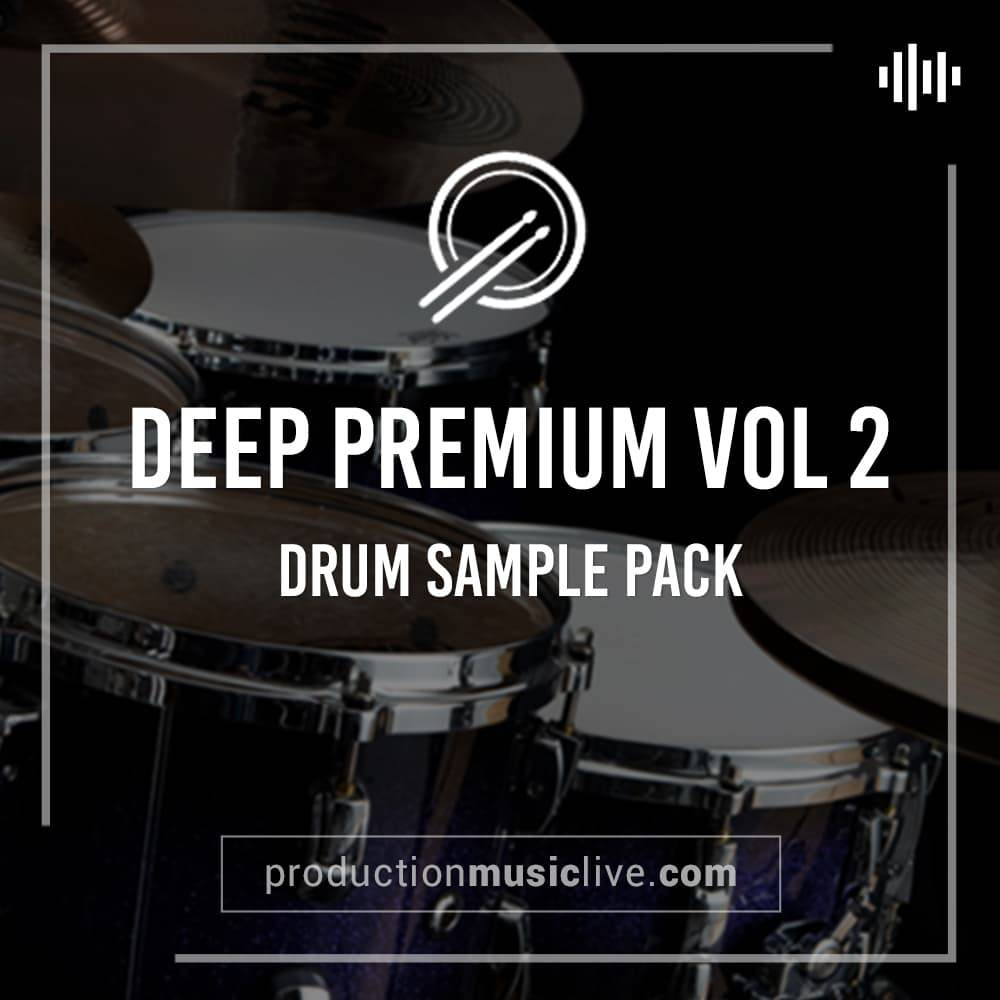Deep Premium 2 Professional Drum Samples w Ableton Project | PML