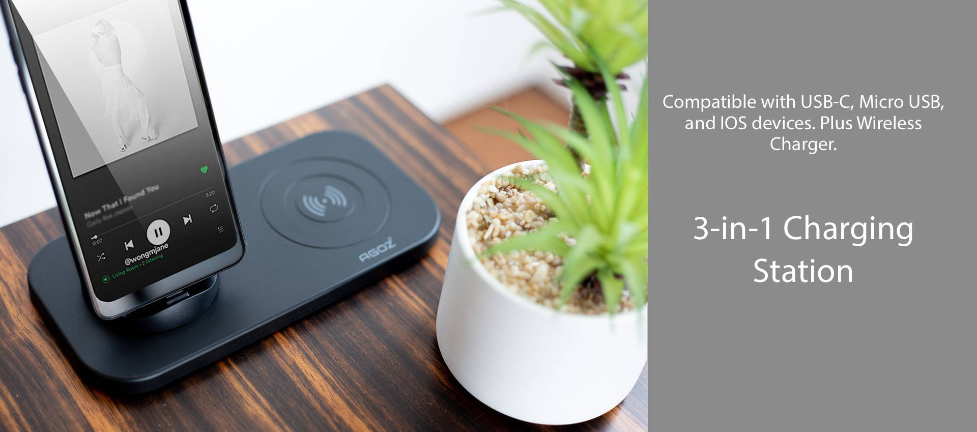 3 in 1 charging station