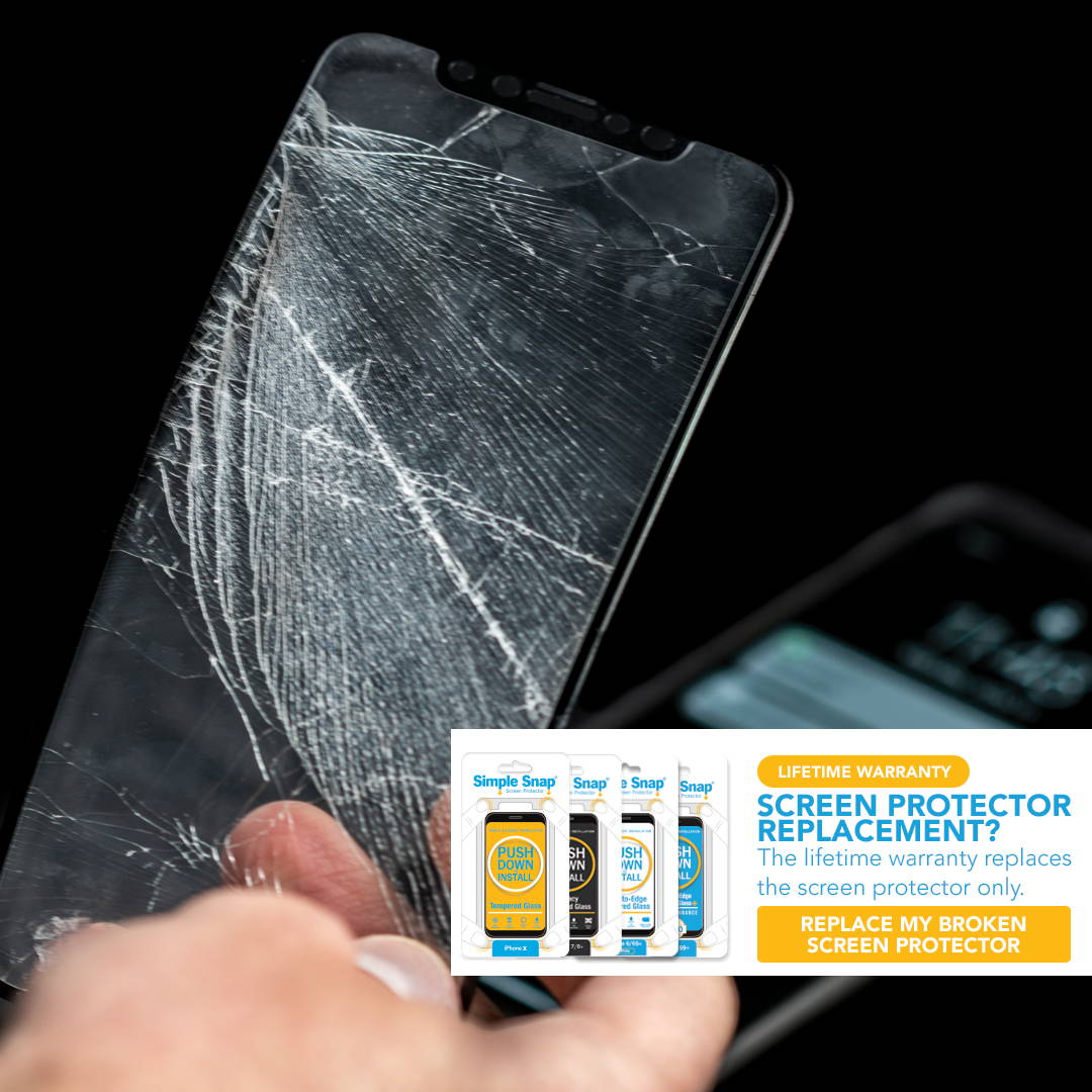 Simple Snap Screen Protector Warranty
