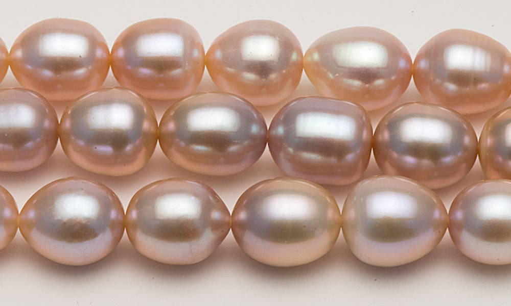 Genuine Cultured Pink Freshwater Pearls