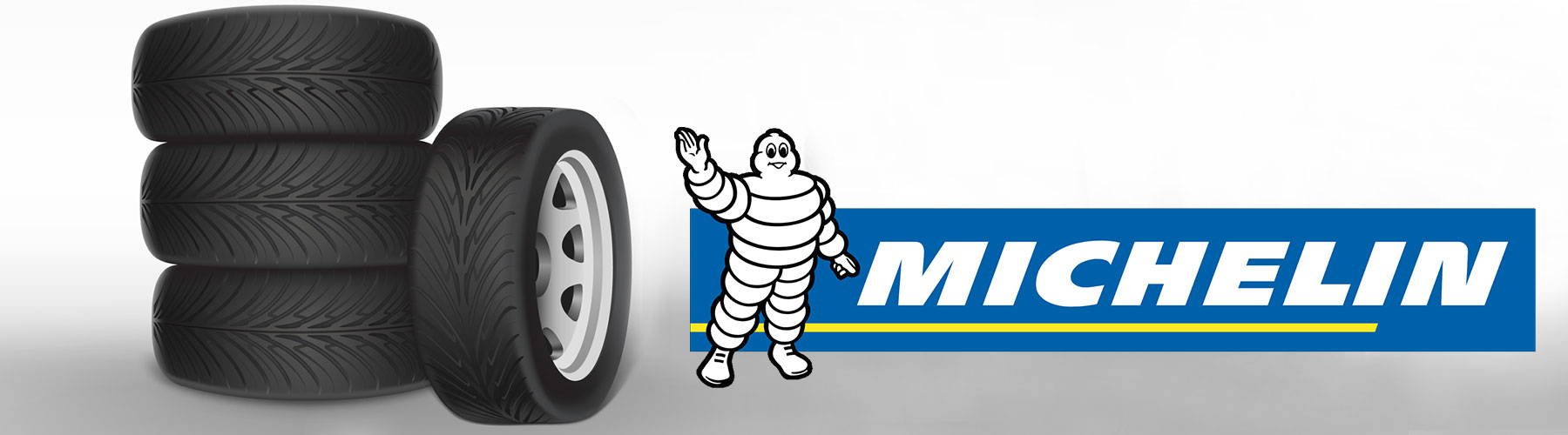 Michellin logo with Tyres image