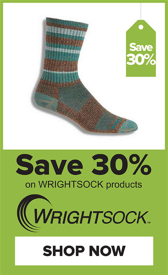 30% Off Wrightsock