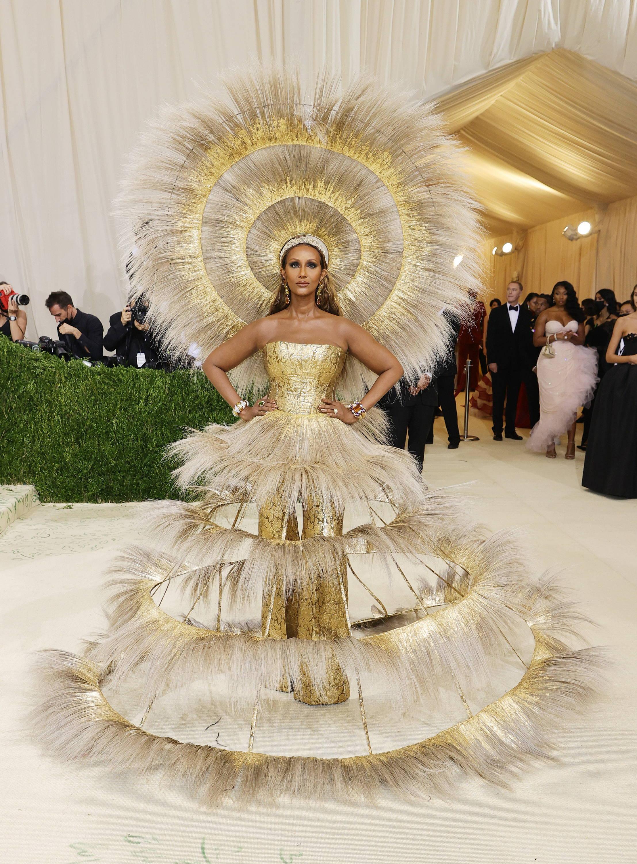 Best Outfit of Met Gala 2021 Iman