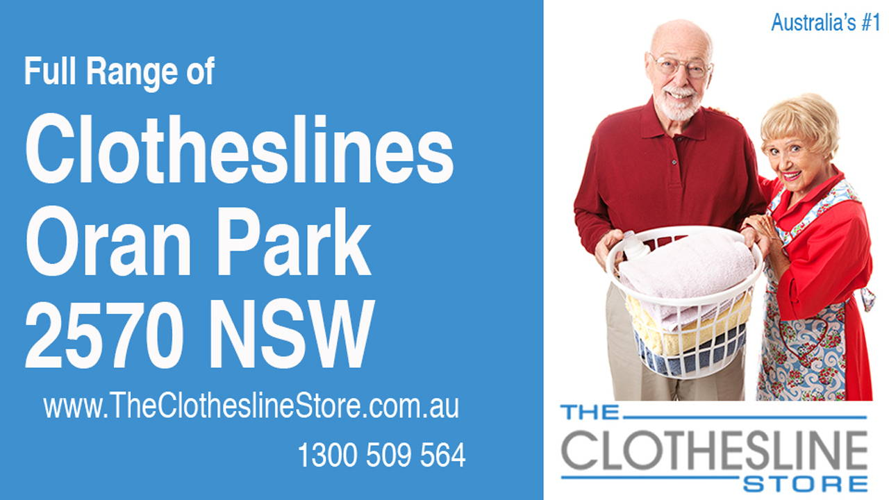 New Clotheslines in Oran Park 2570 NSW