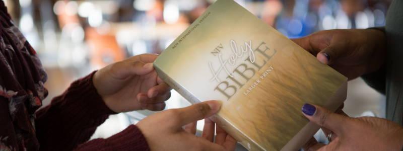 Large Print Outreach Bibles
