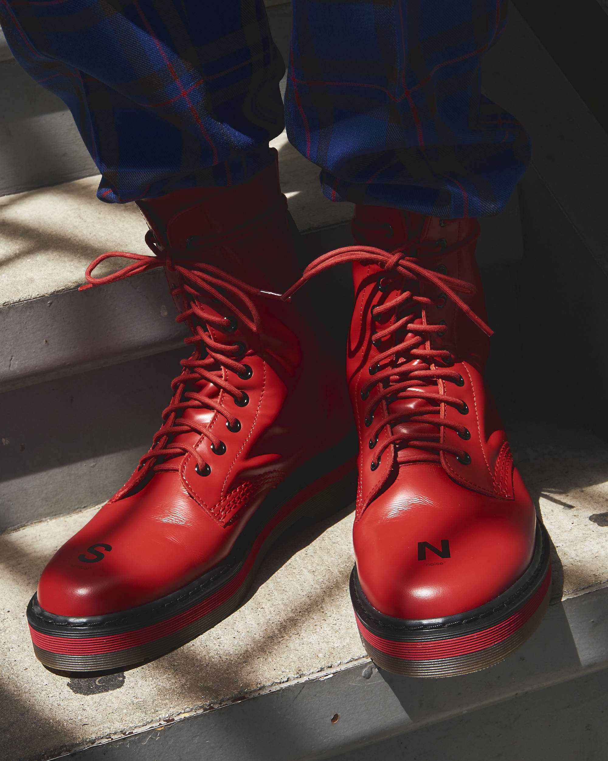 Undercover Spiritual Noise Combat Boot SS18 - Hlorenzo