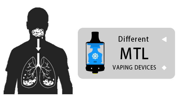 different mtl vaping devices