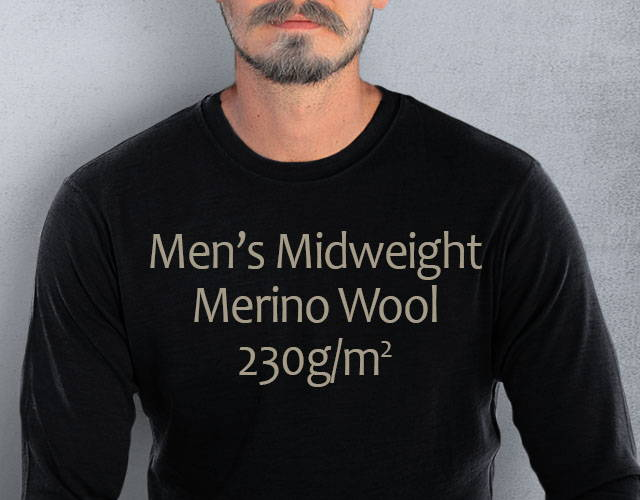 Men's Merino Wool Base Layer - Tops and Bottoms   Free Shipping   Woolx