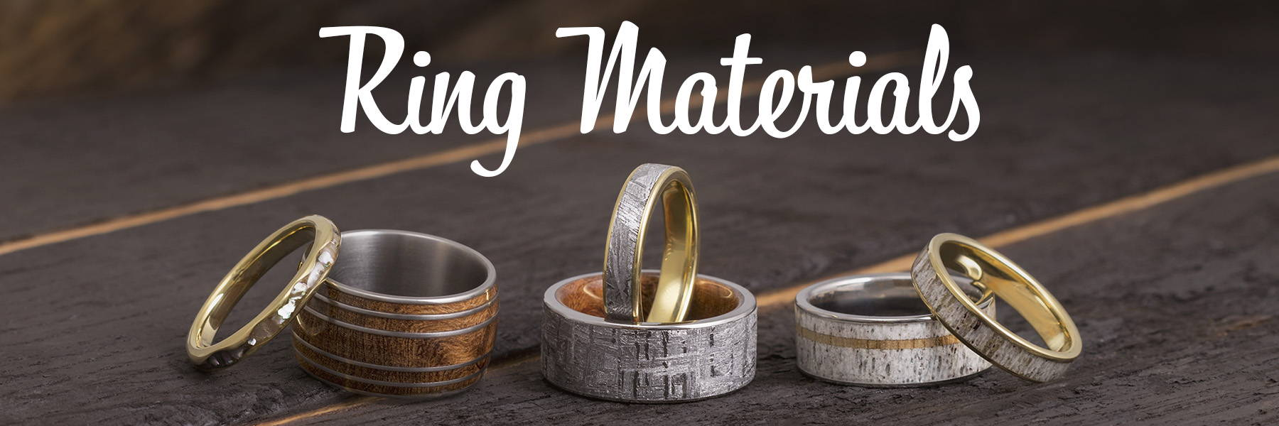 list of ring materials