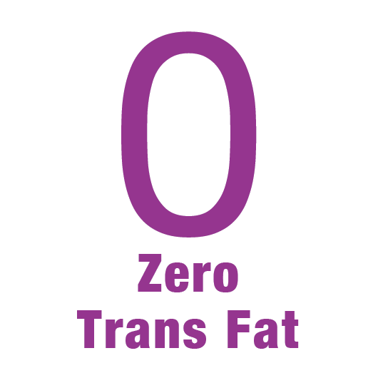 zero trans fat