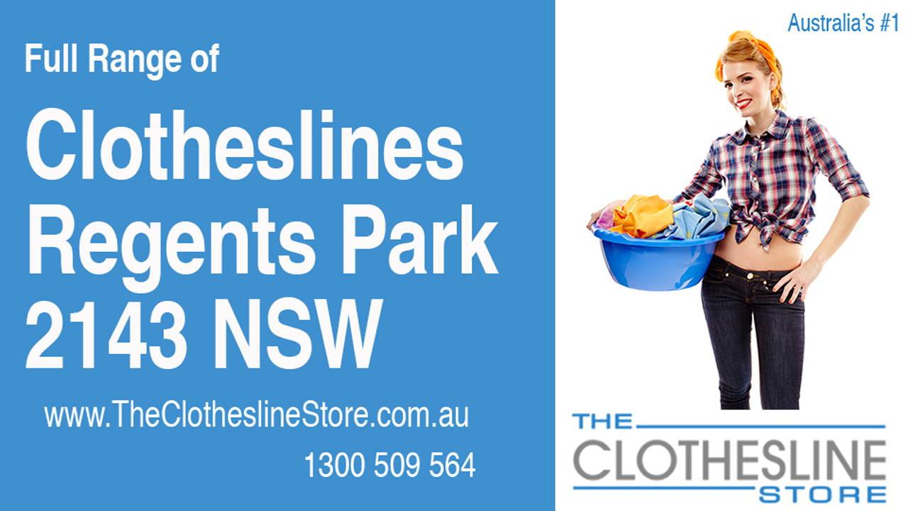 Clotheslines Regents Park 2143 NSW