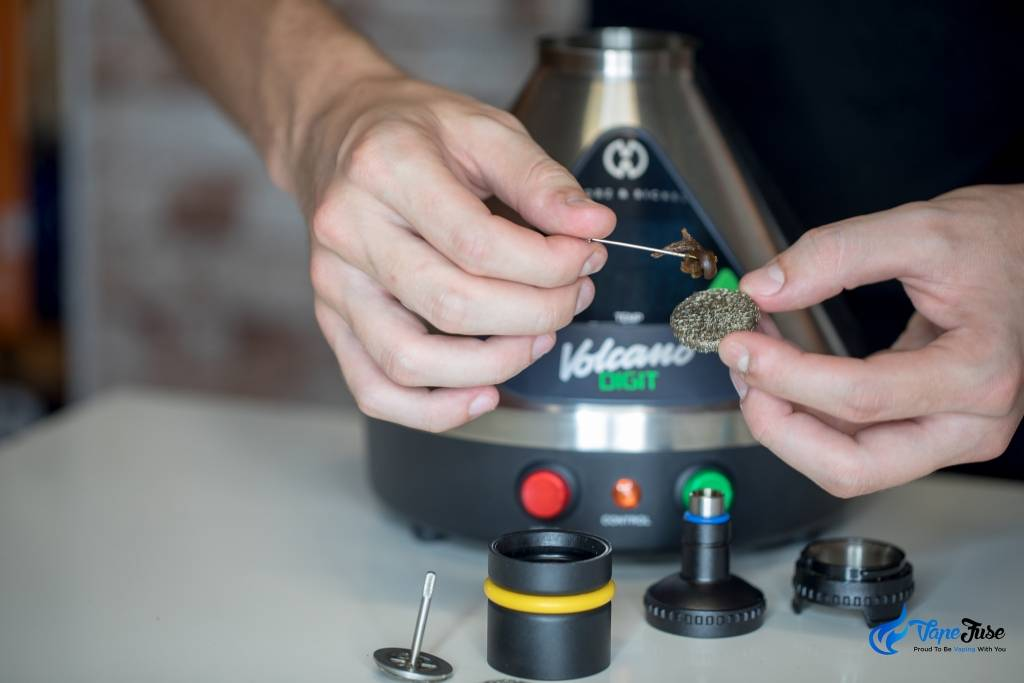 How to Use A Liquid Pad in the Volcano Vaporizer