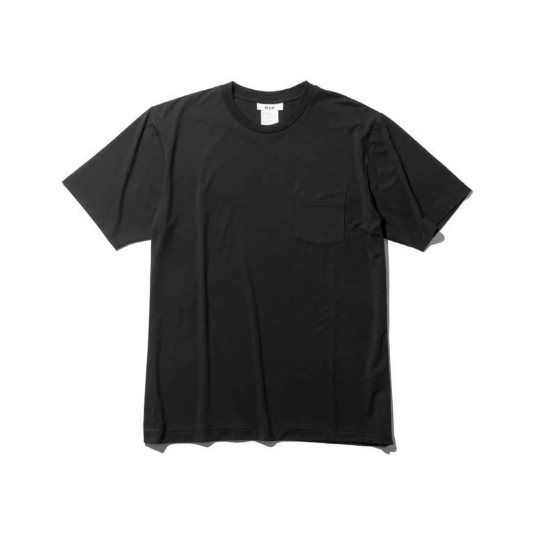MXP(エムエックスピー)/ファインドライ ショートスリーブポケットクルー/ブラック/MENS