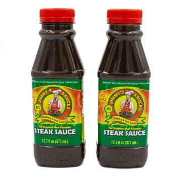 2-Pack Jimmy's Steak Sauce 12.7 fl oz.