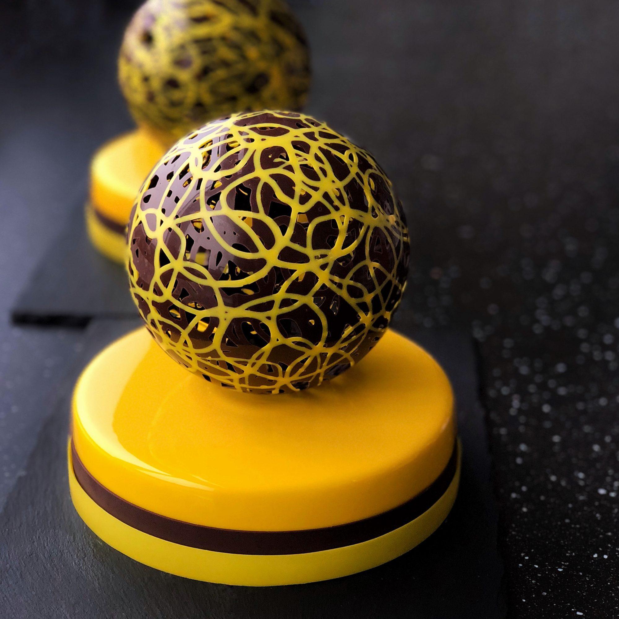 Delicate Chocolate Sphere