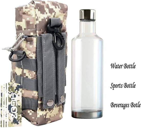 MOLLE Camouflage Tactical Water Bottle Bag