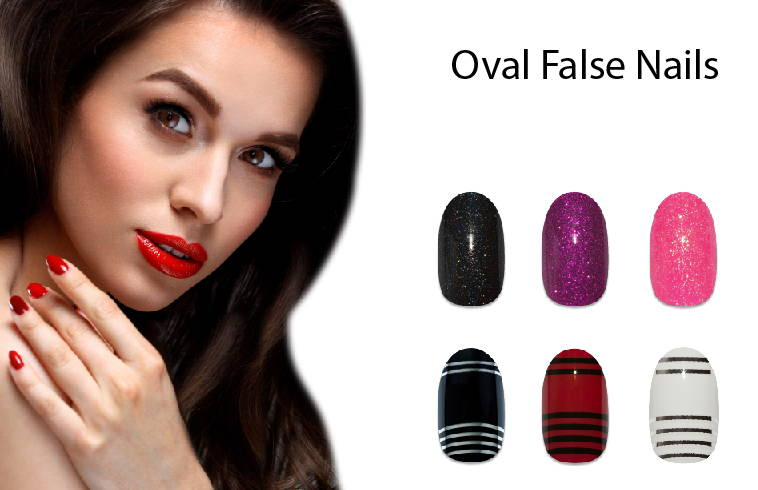 Bling Art - Oval False Nail Collection