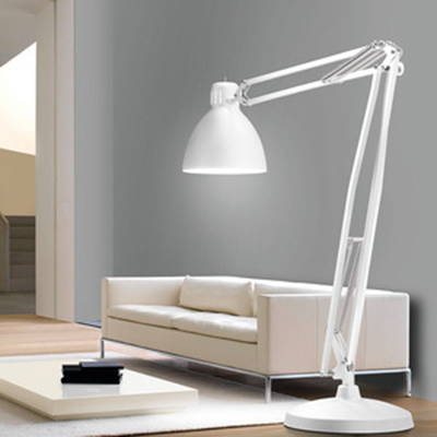 Leucos table and floor lamps