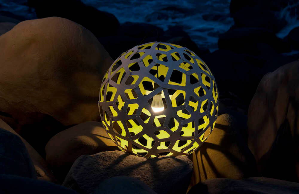 Sustainable Design - David Trubridge Coral Pendant