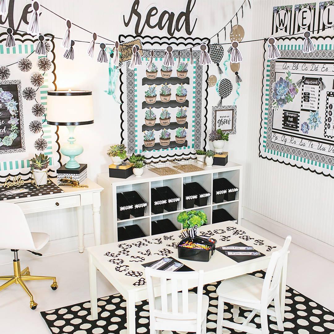 simply stylish classroom decorations