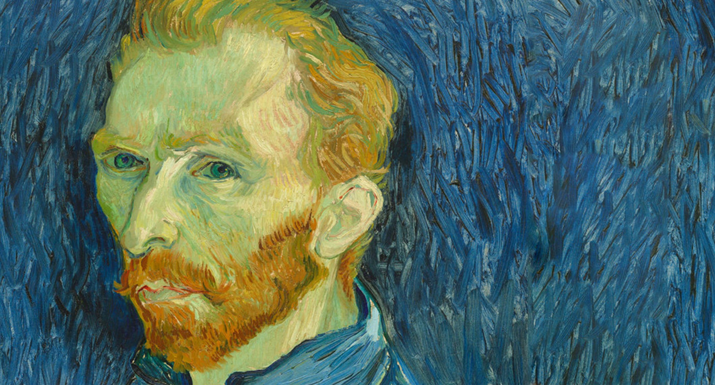 Vincent ® Van Gogh Museum Portrait 1