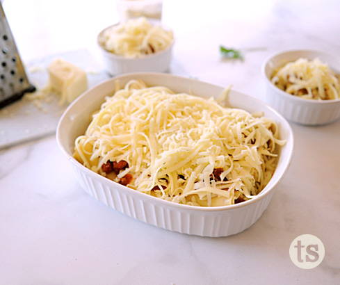 Cooking with Kids: How to Make Lasagna Roll-Ups blog post | Tastefully Simple