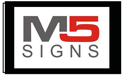 M5 signs