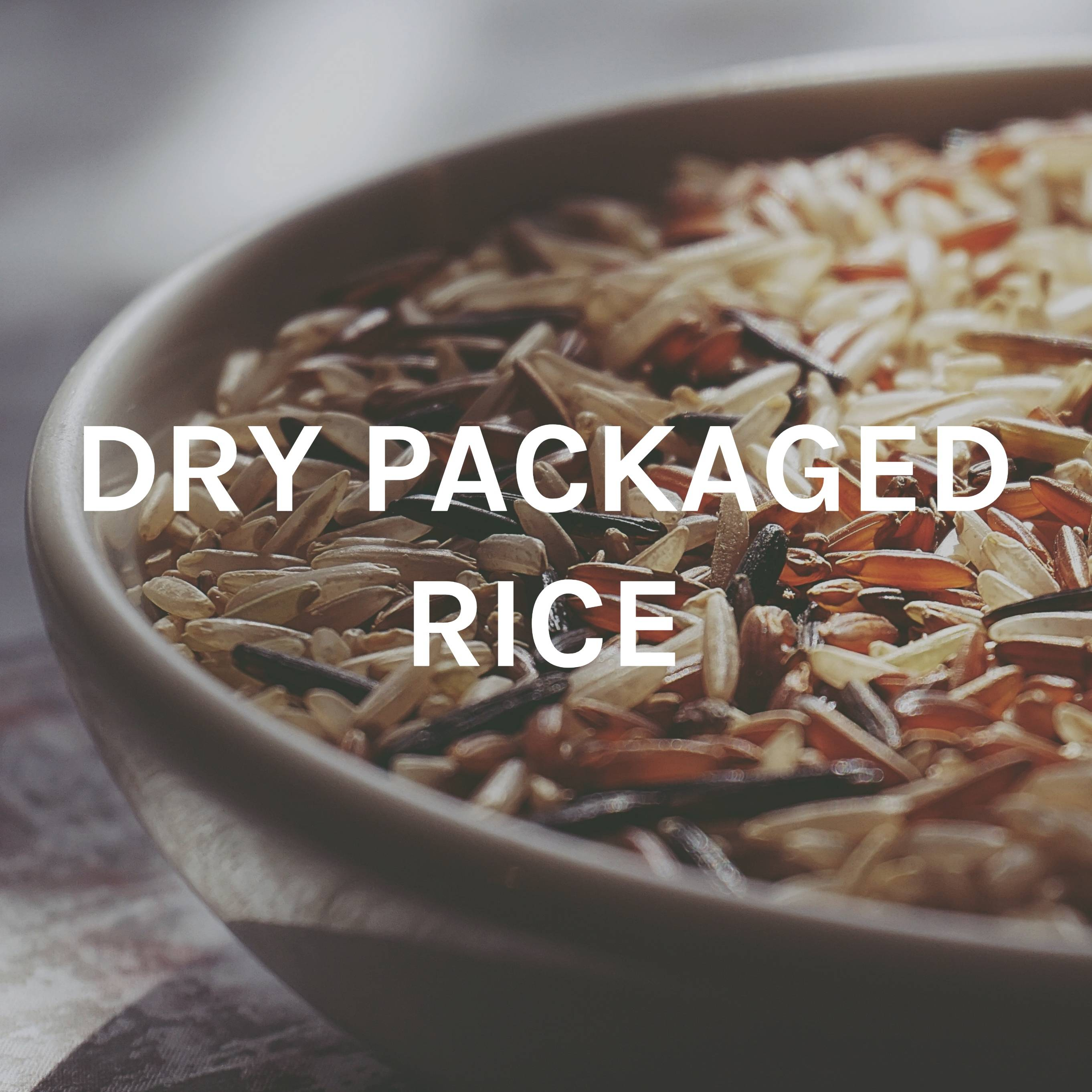 Dry Packaged Rice