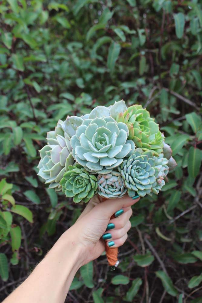succulent bouquet wedding bouquets