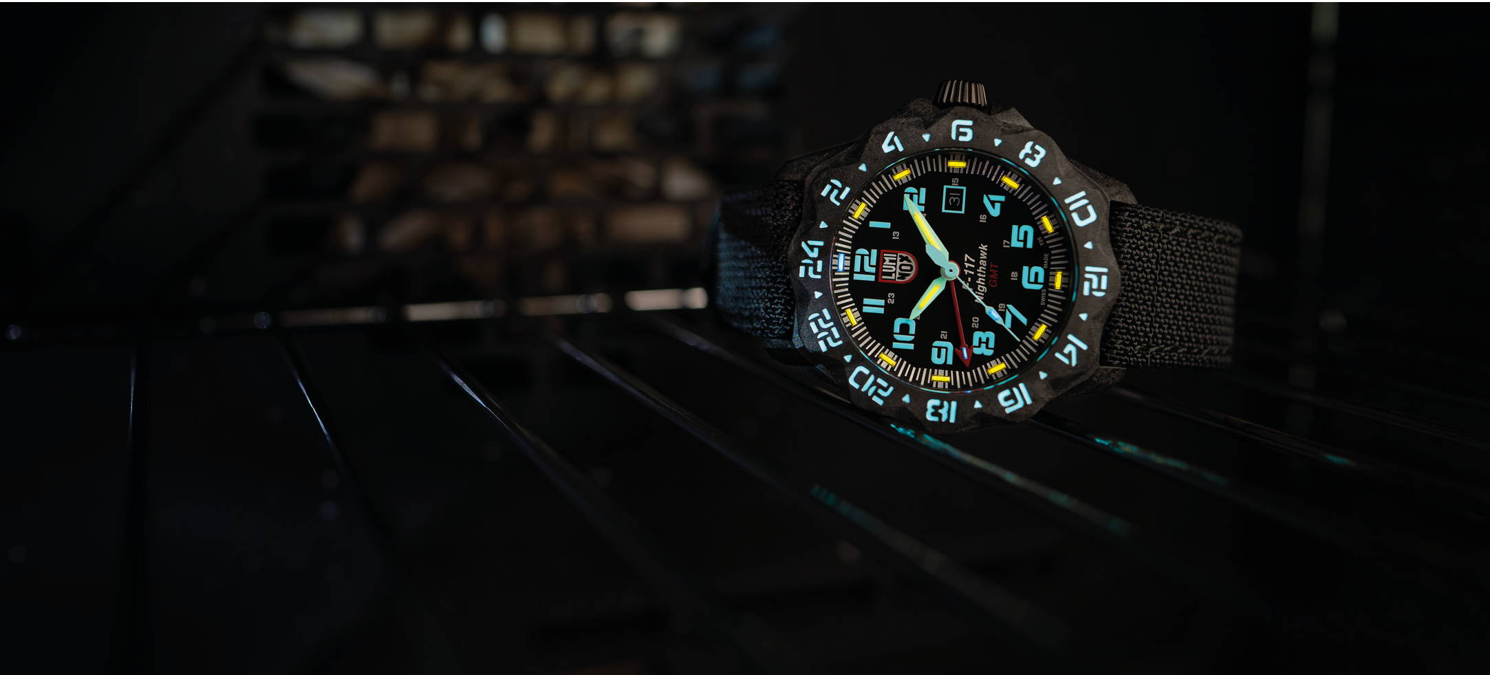 Luminox F-117 Nighthawk 6441 | Tough Watches Available in Australia