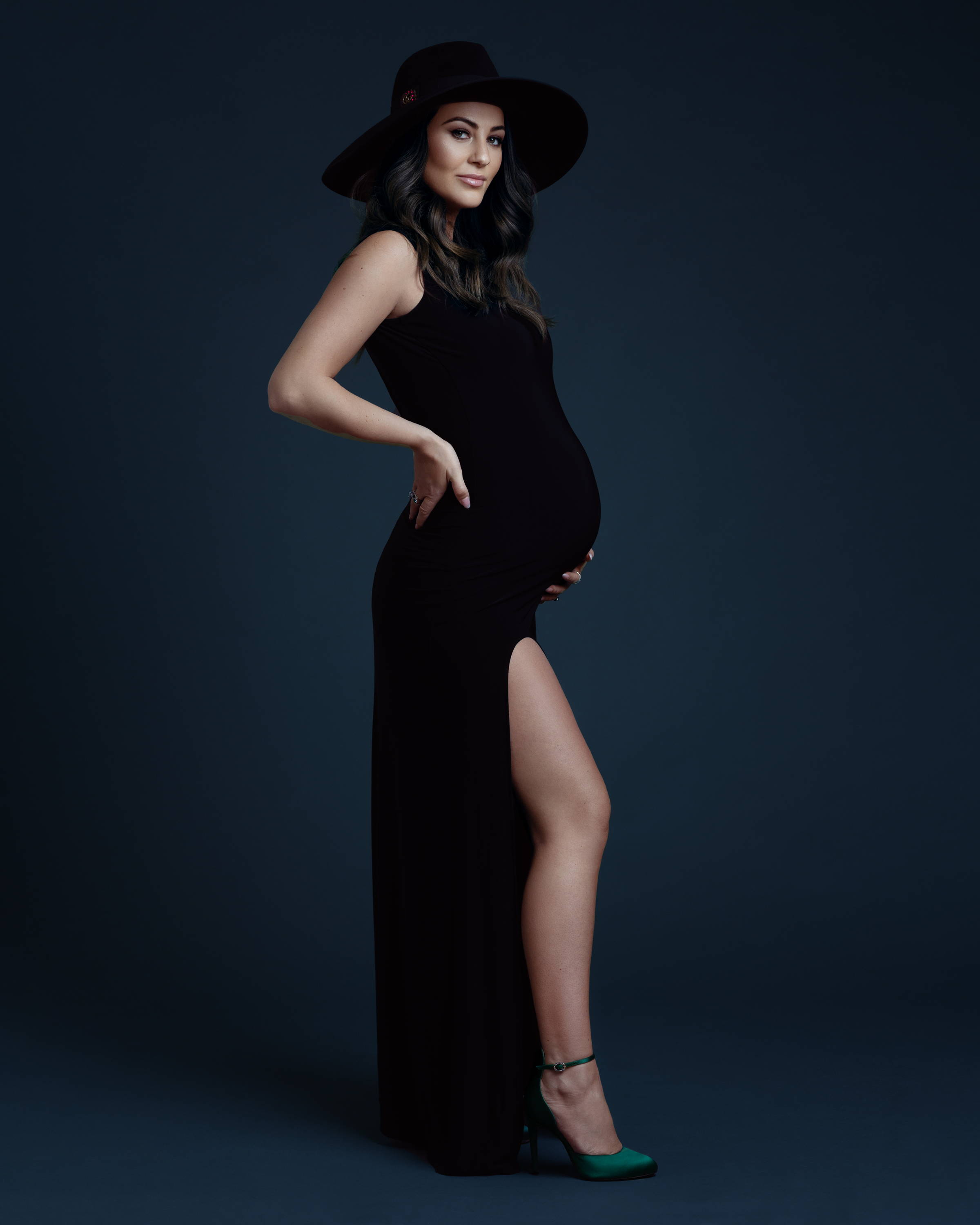 maternity photoshoot uni+koncept blog owner new york by lilly anne photography