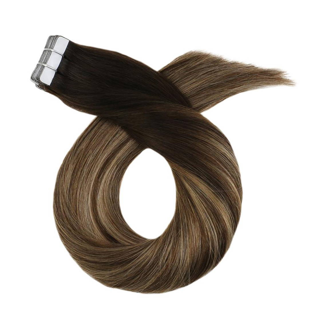 Bronzed Brown Remy Tape-in