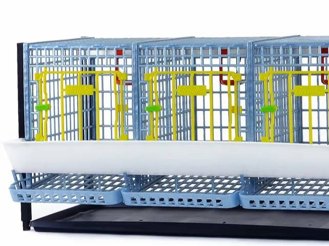 Quail Cage Layer Addition Easy to Clean, Hygienic Breeding