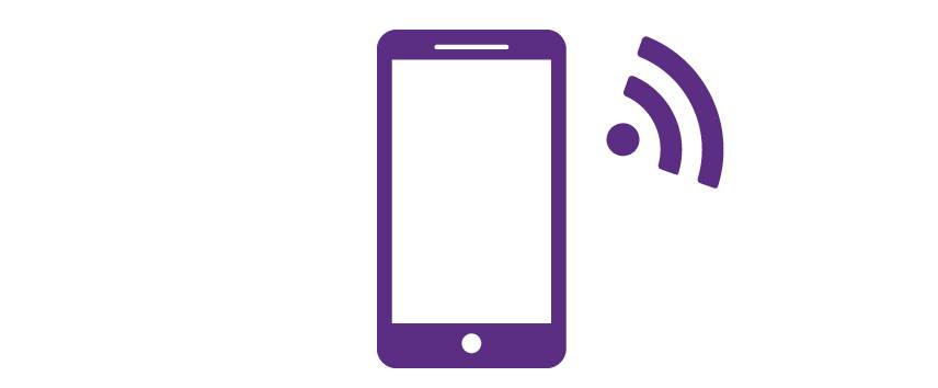 Smartphone control icon