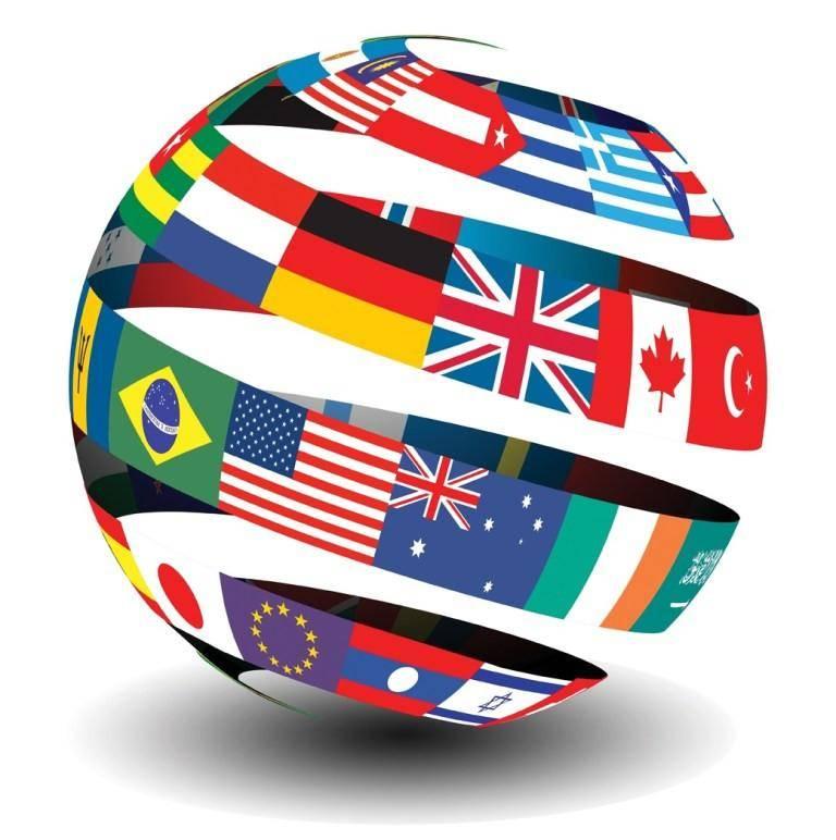 HairMax International Globe Graphic