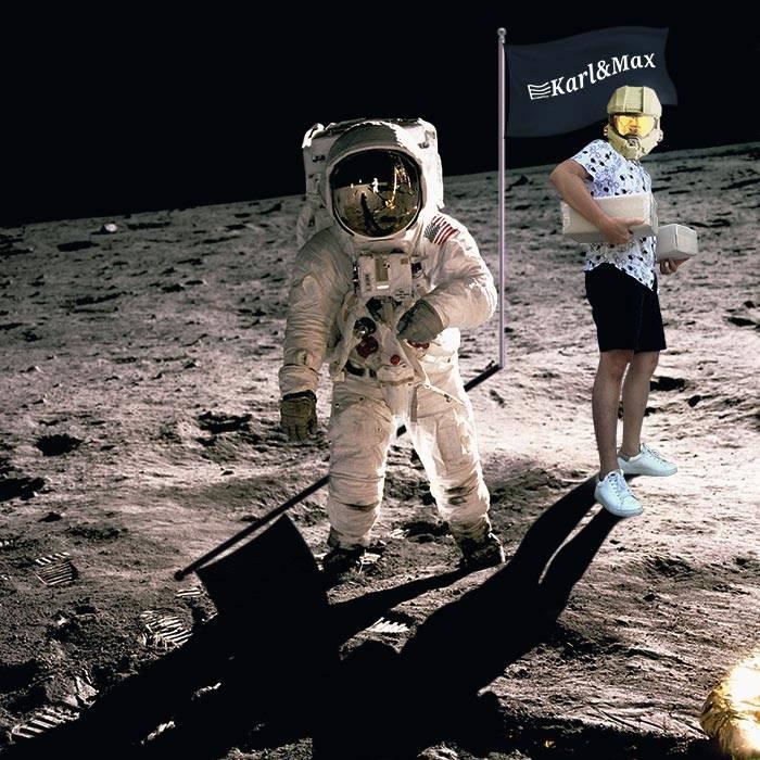 Tu peux pas test, on est déjà dans l'espace.