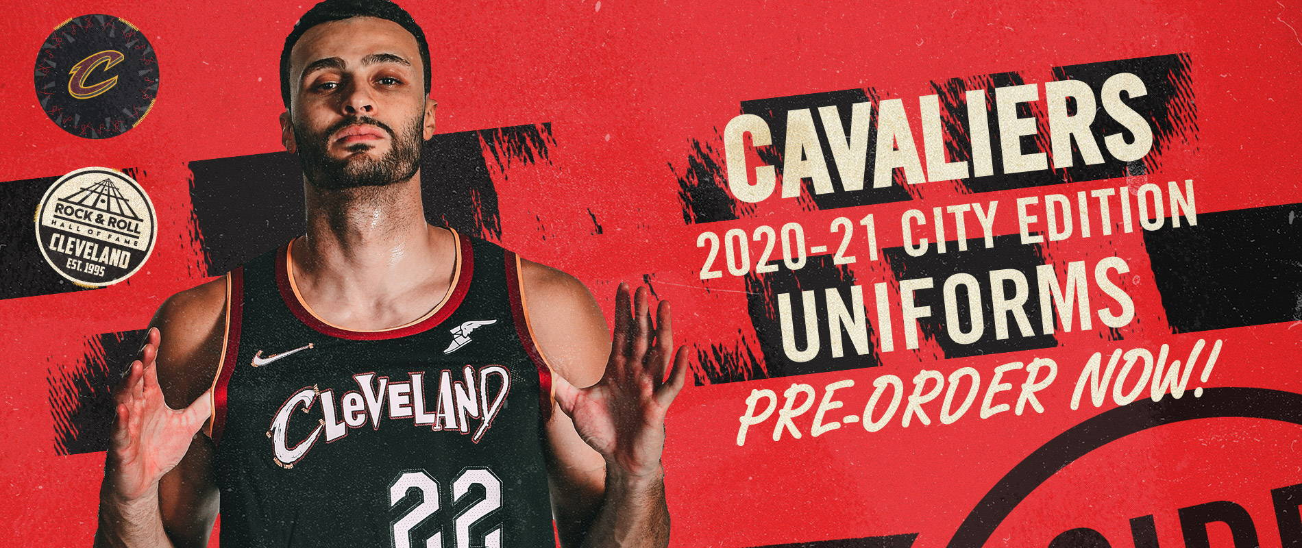 The Cleveland Cavaliers 2020-2021 City Edition Uniforms are available for pre-order NOW!