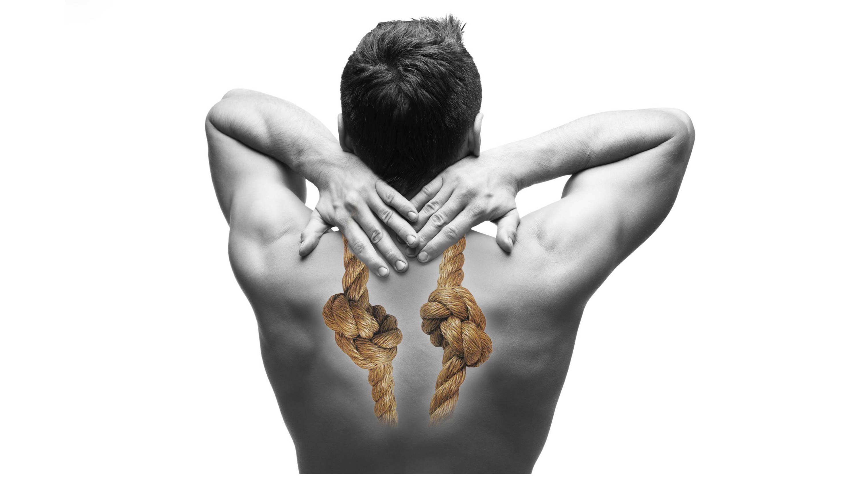 knots between the shoulders, pureposture, posture board
