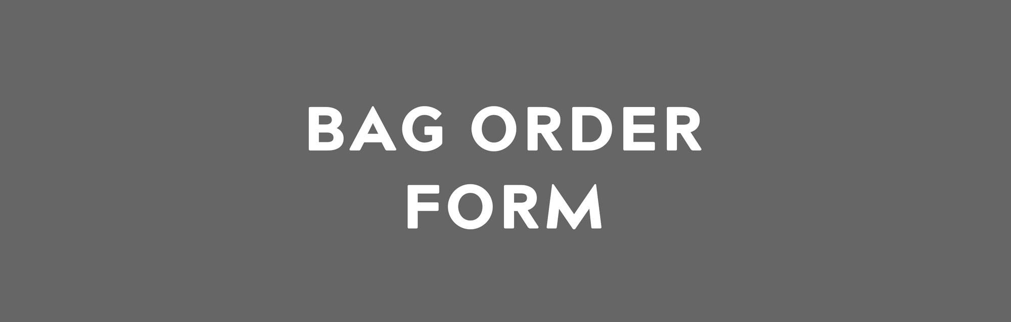 Ambassador resources bag order form