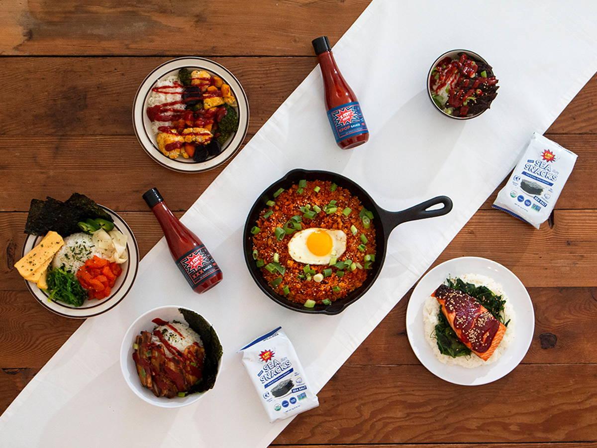 Korean gochujang and rice bowls