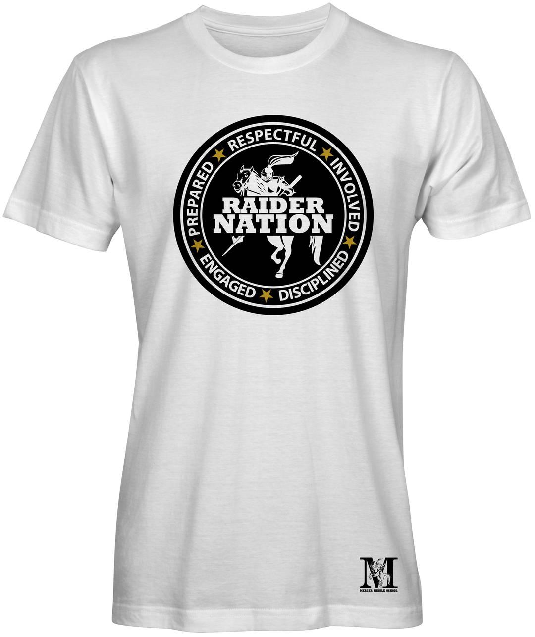 White Mercer T-shirt
