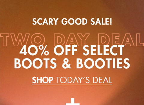 40% Off Boots & Booties