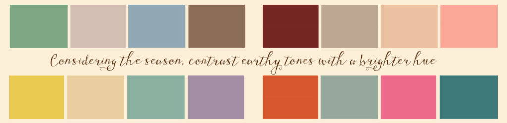 ac6709eb86 The colors you choose for a wedding also contribute to the overall feel.  Most western or country weddings are heavily influenced by nature