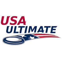 Logo USA Ultimate ARIA professional official ultimate flying disc for the sport commonly known as 'ultimate frisbee'