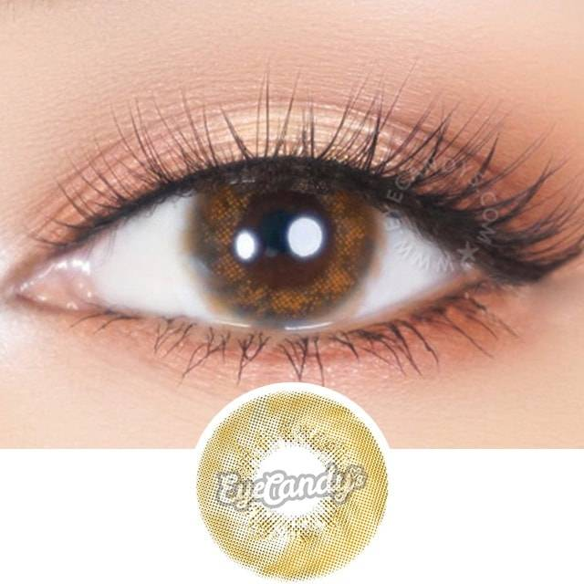 Buy 2 Get 1 FREE Jennybee Caribbean Brown Color Contacts. SHOP NOW