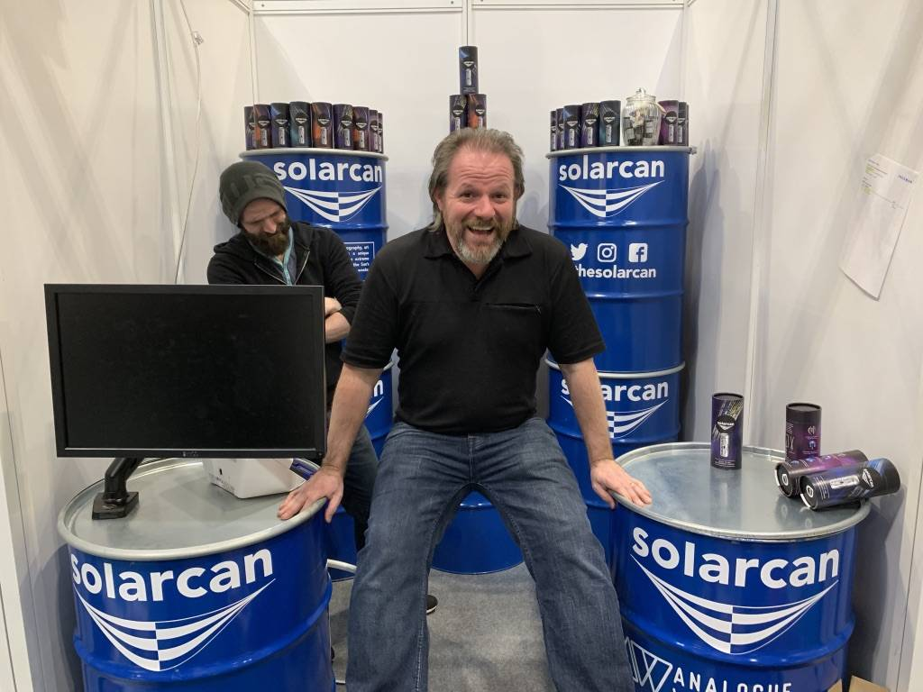 Sam Cornwell of Solarcan