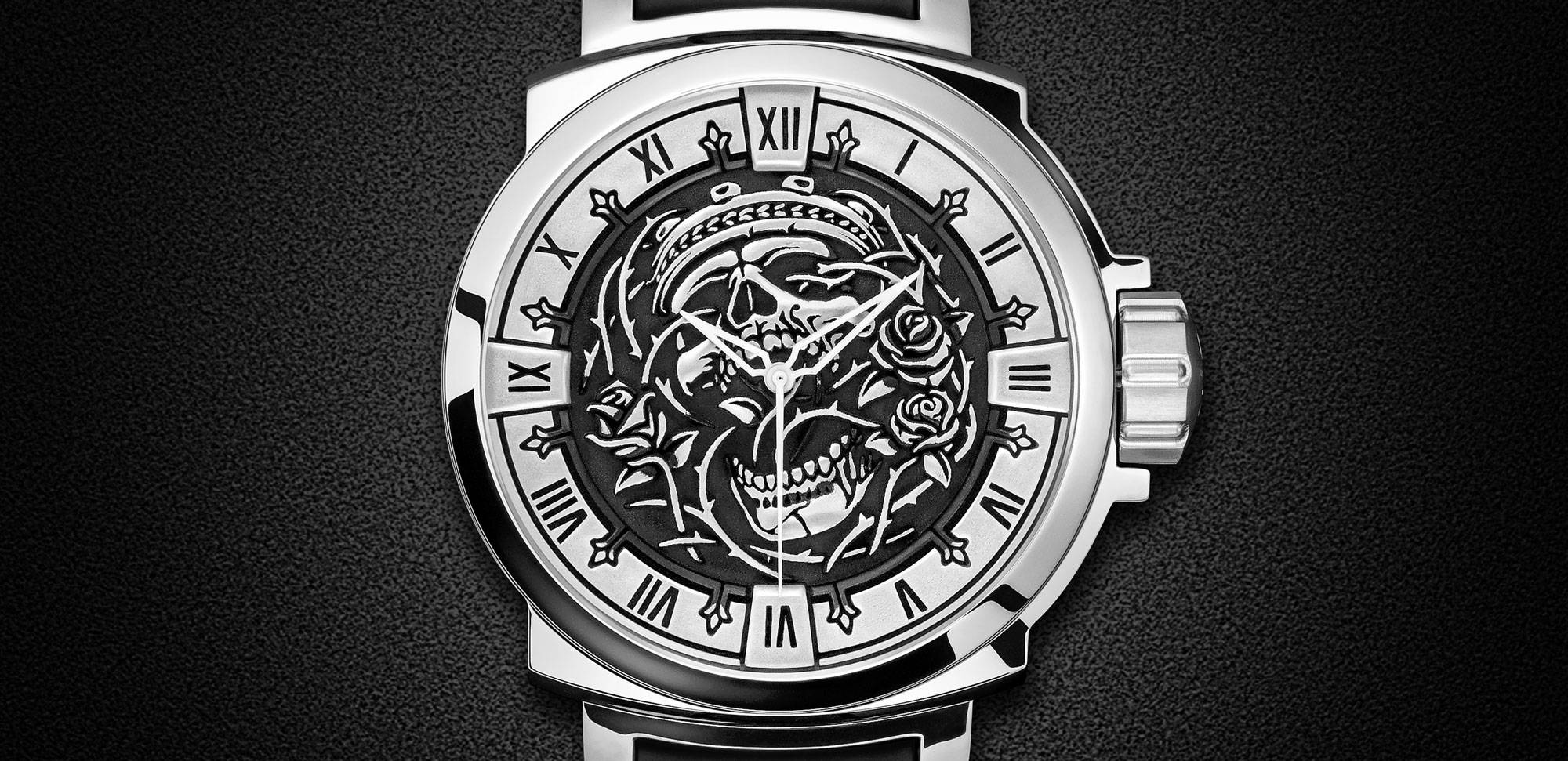 Limited Edition Swiss Automatic Watch by NightRider Jewelry