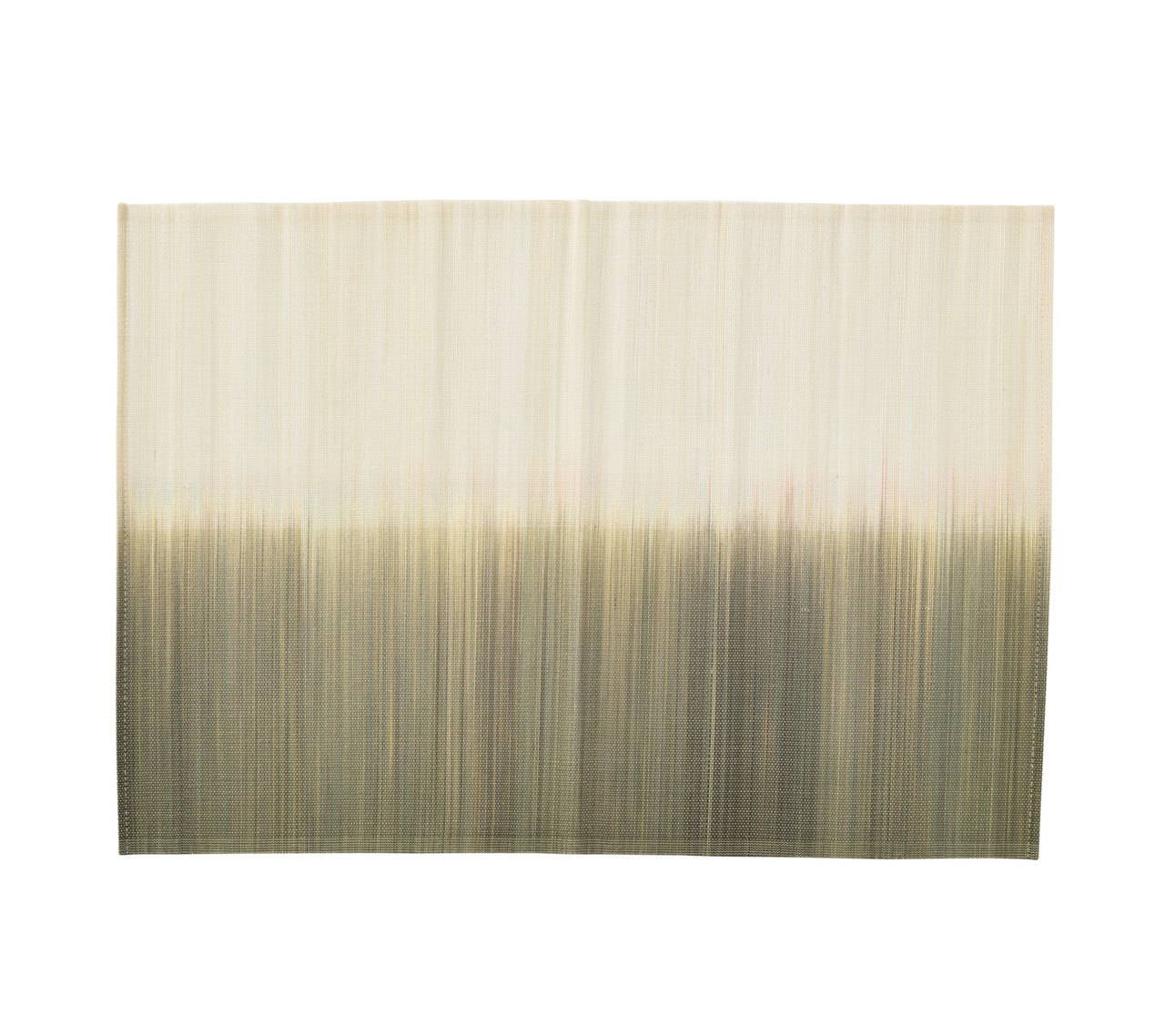 OMBRE PLACEMAT IN IVORY & NATURAL S/4