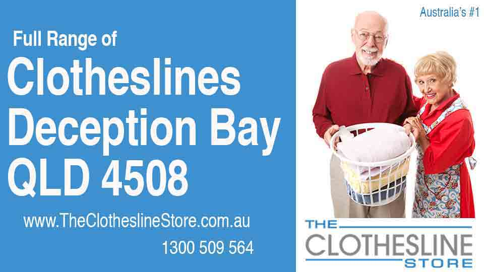 New Clotheslines in Deception Bay Queensland 4508