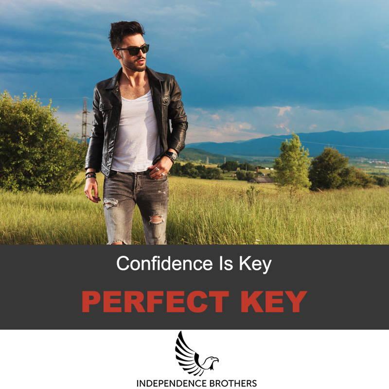 Leather Jacket Confidence